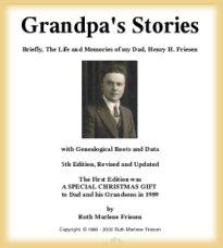 Grandpa's Stories (cover)