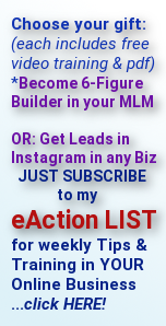 2 free gifts for subscribing to the eAction List